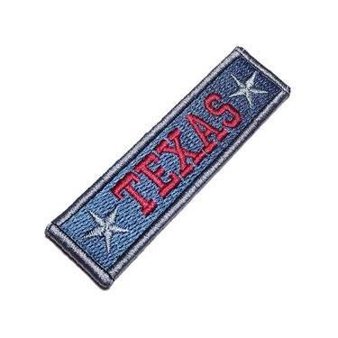 Texas Estados Unidos Da América Patch Bordado Fecho Contato