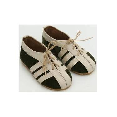 Sapato Verde e Areia