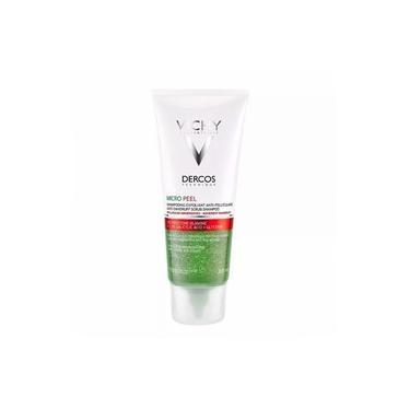 Shampoo Esfoliante Dercos Anticaspa Micro Peel Vichy 200ml