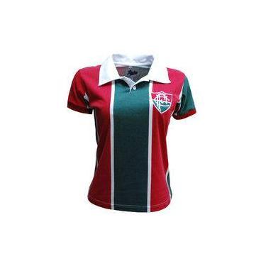 Camisa Liga Retrô Fluminense 1913 Feminino