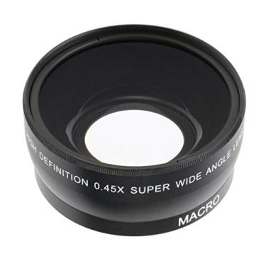 Imagem de KESOTO Lente Grande Angular + Conversor Macro de 55 Mm 0,45x para Sony Canon