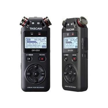 Gravador Digital De Audio Voz Tascam Dr-05X Profissional