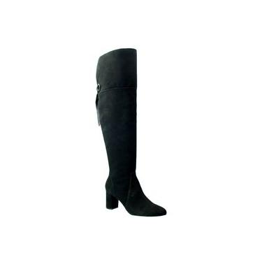 Bota Over The Knee Capodarte Nobuck