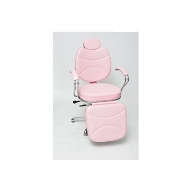 Poltrona Cadeira Hidráulica Reclinável Maquiagem