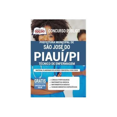 Imagem de Apostila Concurso São José do Piauí - Técnico de Enfermagem