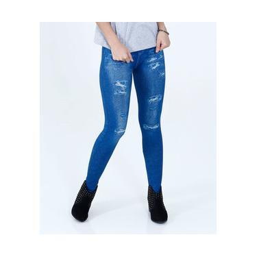Calça Feminina Legging Sawary ae7ff3a4160
