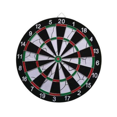 Jogo de Dardos com Alvo de 42cm de Diâmetro + 6 Dardos Atrio - ES170 ES170