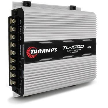 Módulo Taramps TL 1500 D 390W RMS 3 Canais