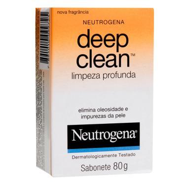 Sabonete Facial em Barra Neutrogena Deep Clean Limpeza Profunda com 80g 80g