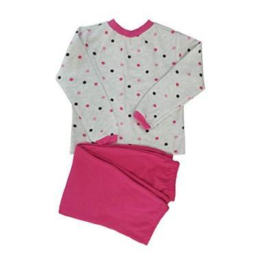 Pijama infantil menina moletinho flanelado estampado 0 a 4 anos (2)