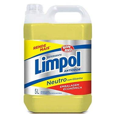Detergente Líquido Limpol Neutro 5 Litros