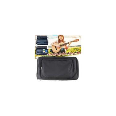 Imagem de Placa de pedal de efeitos de guitarra portátil universal preta Gig Bag Bolsa flexível diy Pedalboard de guitarra