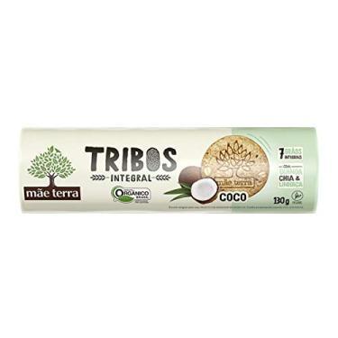 Biscoito Integral Mãe Terra Tribos Coco 130g