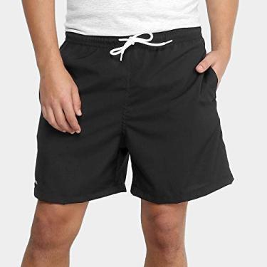Shorts de praia Mash LISO C/BORDADO MASH Masculino Preto M