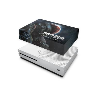 Capa Anti Poeira para Xbox One S Slim - Mass Effect: Andromeda