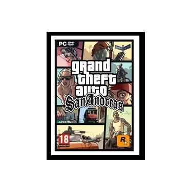 Quadro Gta San Andreas Game 40x60 Cm