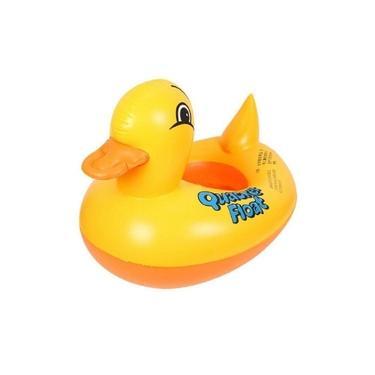 Boia Bote Inflável Infantil Fralda Animal Pato