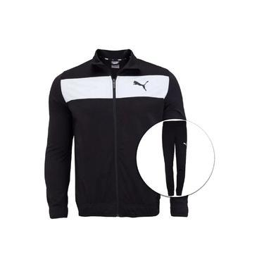 Conjunto De Agasalho Puma Techstripe Tricot Suit 581595 Masculino