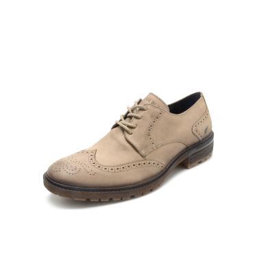 df746e450e Sapato Couro Ellus Brogue Bege Ellus 49ZD803 masculino