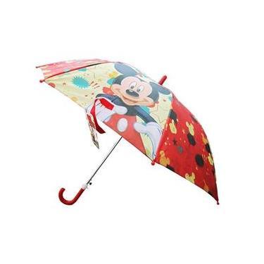 Guarda Chuva Infantil Automático Mickey Disney