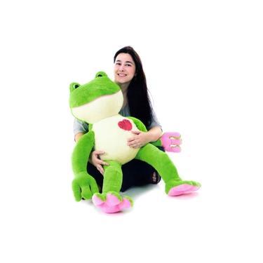 Imagem de Pelúcia Sapo Charmoso Grande - Cortex Brinquedos