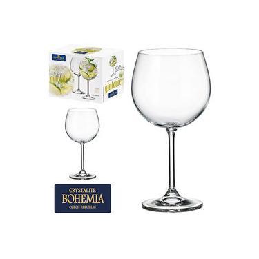 Jogo De Taca De Cristal Gin Com 2 Unidades Bohemia 620ml