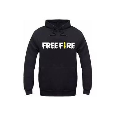 Moletom Unissex Free Fire Game Super Promoção