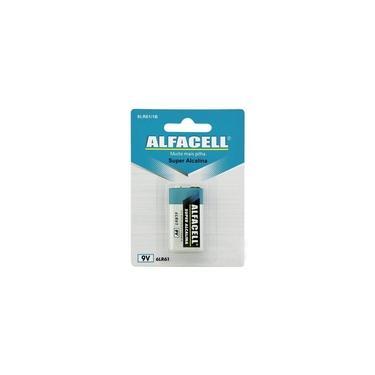 Bateria Alcalina 9V - Alfacell