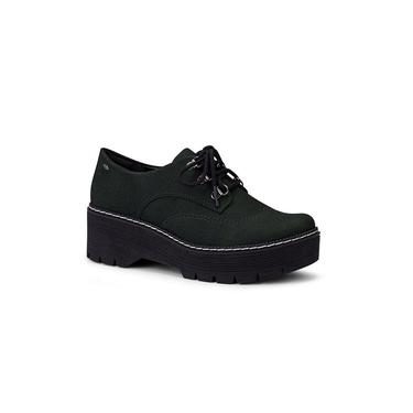 Sapato Dakota G2573 Oxford Flatform Verde Musgo Conforto