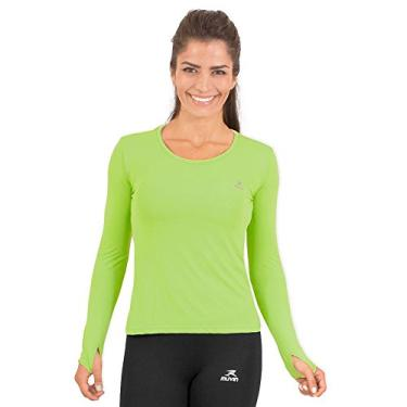 Camisa Running Performance G1 Uv50 Ls/hc - Muvin - Clr-400 - Verde - Gg
