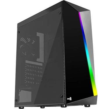 Gabinete Gamer Mid Tower RGB Shard, Aerocool, Shard Acrylic, Preto