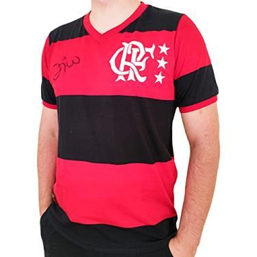 Imagem de Camisa Flamengo Braziline Libertadores 81 Zico Masculino