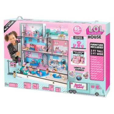 970d9bce5 Casa da LOL 63 Cm e Mini Bonecas - LOL - Surprise House - 85 Surpresas