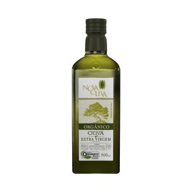 Azeite de Oliva Extra Virgem Orgânico 500ml - Acidez 0,2% - NOVA OLIVA