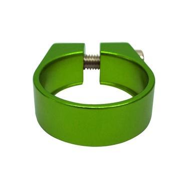 Abraçadeira de Selim Cly 34.9mm em Alumínio Verde