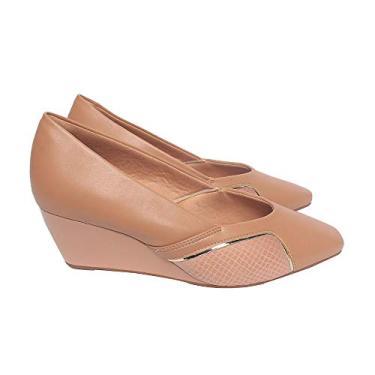 Sapato Malu Super Comfort Andrielle Feminino Antique 35