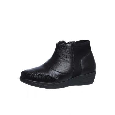 Bota Feminina Cano Curto Doctor Shoes 181 Preto 181-PTO-NEO-186-1042 feminino