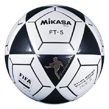 Mikasa Bola de futebol FT5 Goal Master (Preto/Branco, Tamanho 5)