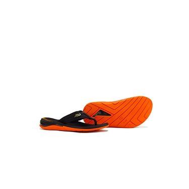 Chinelo Sandália Kenner M12 Preto Laranja Confortável
