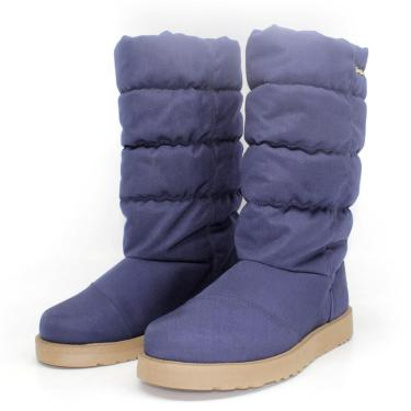 Bota Barth Shoes Snow Marinho  feminino