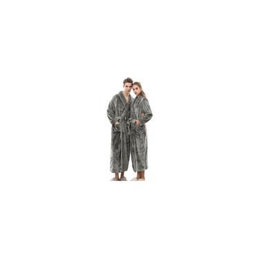 Casaco feminino de mangas compridas roupão de banho longo coralline de pelúcia xale de inverno feminino