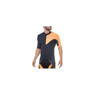 Camisa de Ciclismo X3X Flets Manga Curta Com Recorte