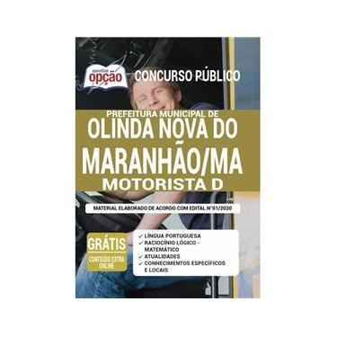 Imagem de Apostila Prefeitura Olinda Nova Do Maranhão Ma - Motorista D