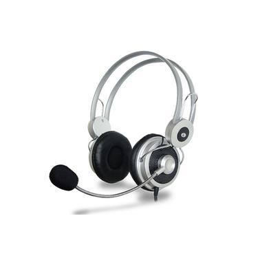 Headfone c/ microfone Bass Prata HM-610MV Infokit