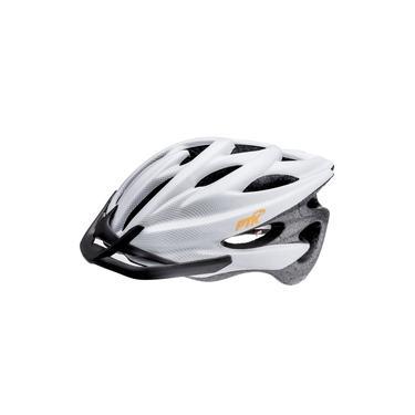 Capacete de Ciclismo Runner Adulto Carbono Branco Fosco C/ Regulador