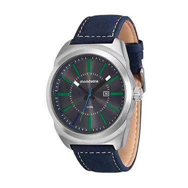 6bf99bc902b Relógio Mondaine Masculino Analógico com Calendário Azul 76594G0MVNH2