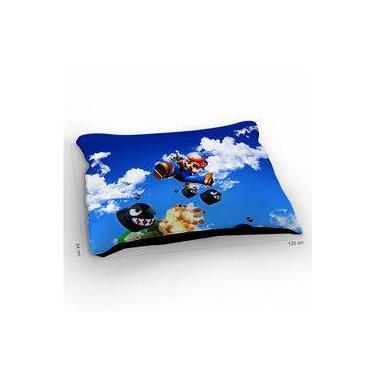 Colchão Para Pet Super Mario Sky