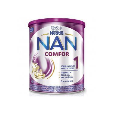 Nan Comfor 1 Fórmula Infantil Nestlé Lata 400g