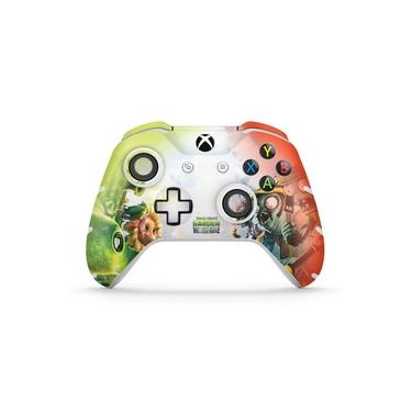 Skin Adesivo para Xbox One Slim X Controle - Plants Vs Zombies Garden Warfare