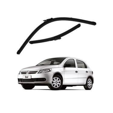 Kit Palhetas Limpador de Parabrisa Dianteiro VW Volkswagen Gol G5 Ano 2008 - 2012